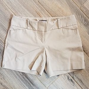 The Limited Tan Dress Shorts Size 2